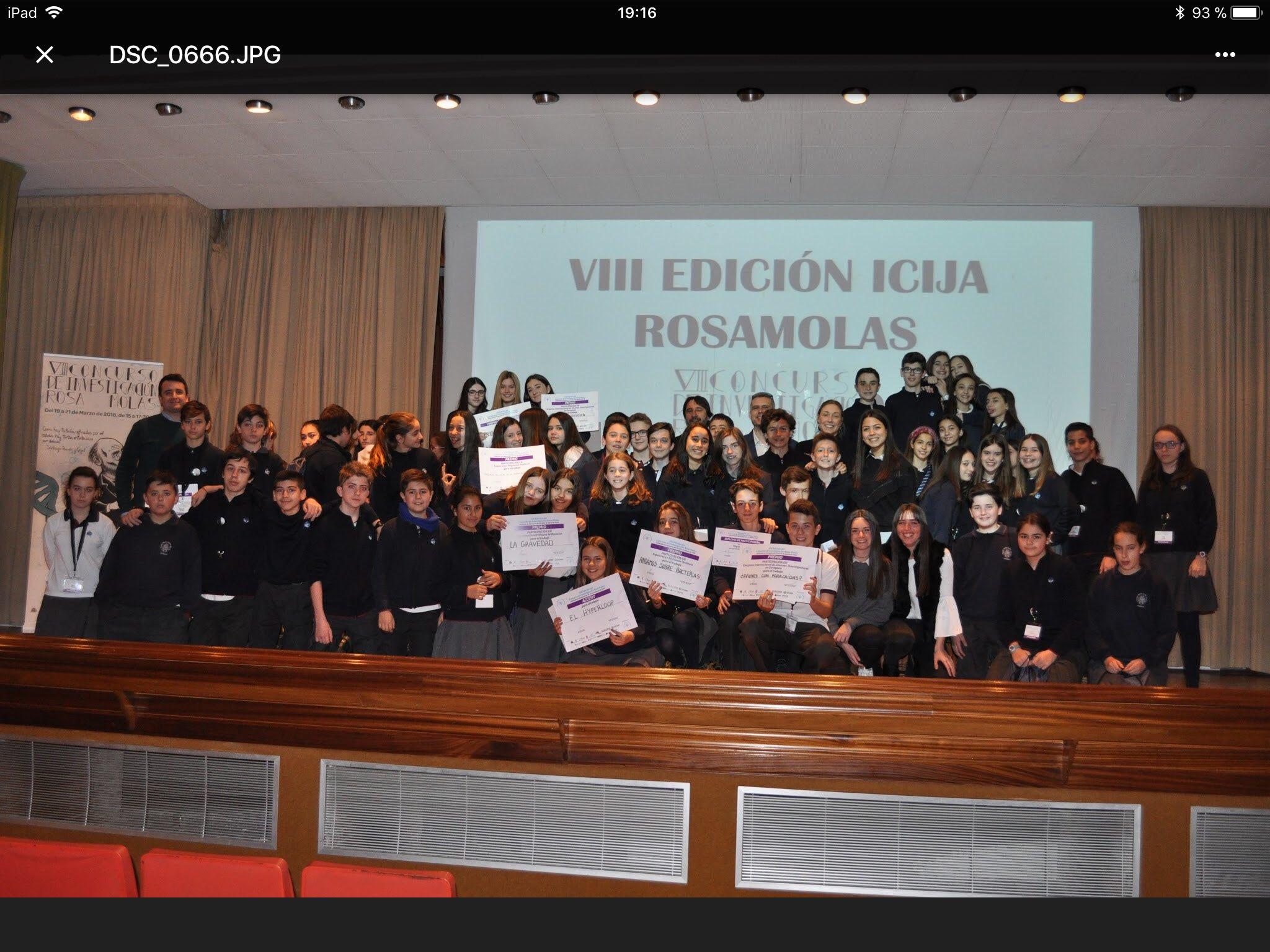 Concurso Rosa Molas 2018